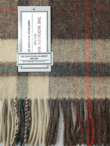 The Shanbally Wide Lambswool Scarf