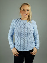 Load image into Gallery viewer, Aran Knit Merino Wool Sweater