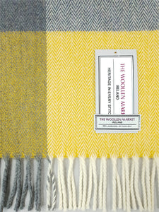 The Ballymount Extra Long Lambswool Scarf