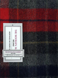 The Inishannon Wide Lambswool Scarf
