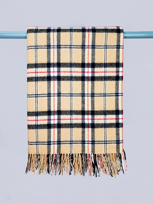 The Donaghmore Lambswool Throw