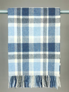 The Derrynane Lambswool Throw