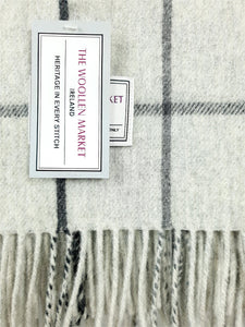 The Ringaskiddy Lambswool Throw