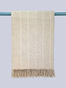 The Crosshaven Lambswool Throw