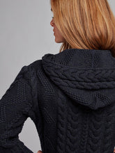 Load image into Gallery viewer, The Ballylongford Aran Knit Zip Hoodie