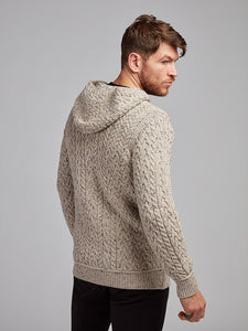 The Cootehall Aran Knit Hoodie