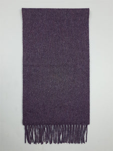 The Purple Heather Lambswool Scarf