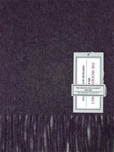 Load image into Gallery viewer, The Purple Heather Lambswool Scarf