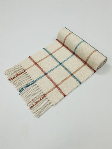The Waterfall Lambswool Scarf Made in Ireland for The Woollen Market