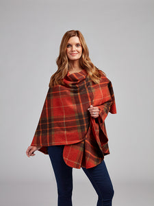 The Glin Lambswool Cape