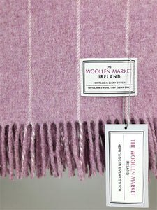 The Tuam Lambswool Throw