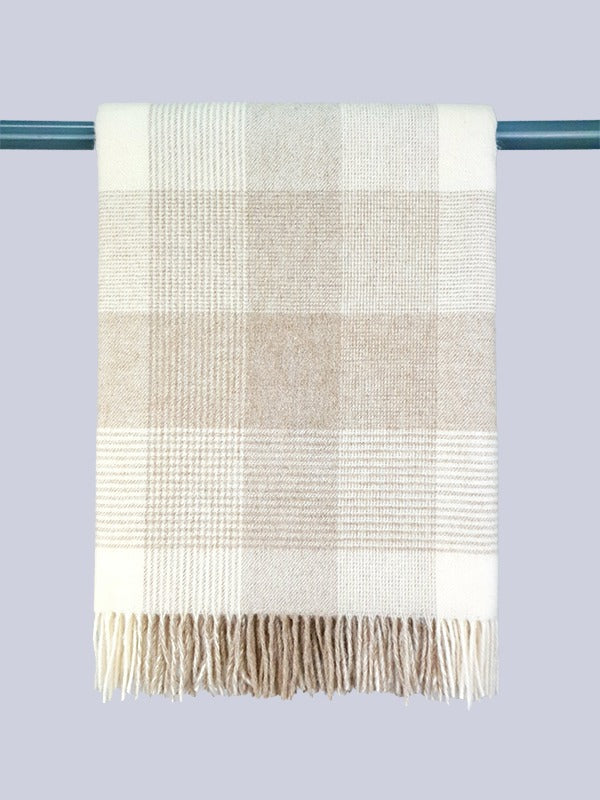 The Ballyconnell Lambswool Throw