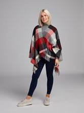 Load image into Gallery viewer, The Newtowncashel Lambswool Cape With Fringe
