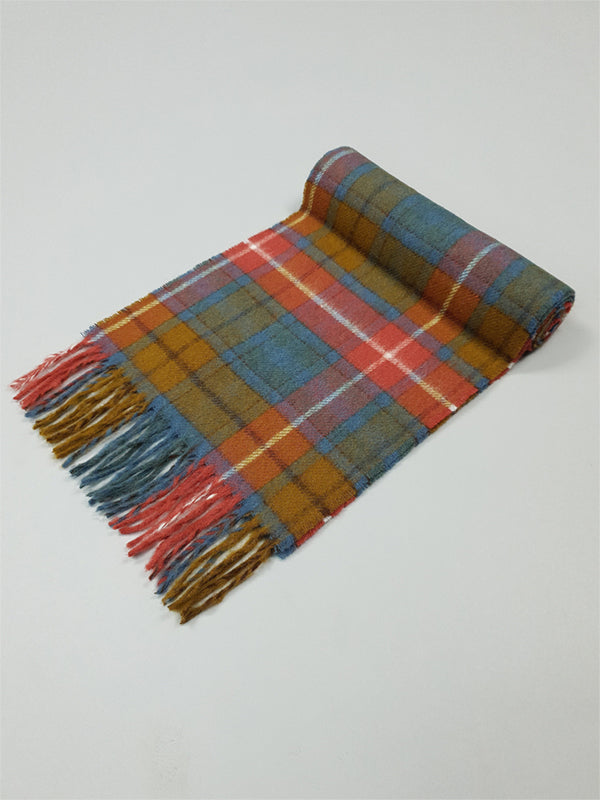 The Antique Buchanan Tartan Lambswool Scarf