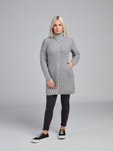 Load image into Gallery viewer, The Mountcollins Aran Knit Button Coat