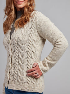 The Dromoland Wool and Cashmere Cardigan