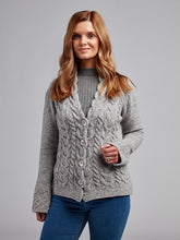 Load image into Gallery viewer, The Dromoland Wool and Cashmere Cardigan