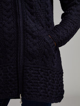 Load image into Gallery viewer, The Drogheda Aran Knit Zip Hoodie