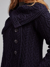 Load image into Gallery viewer, The Mulranny Aran Knit Button Coat