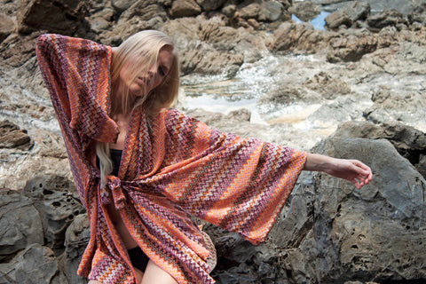 A.P.Monde Zero Waste Design ElNido Dress photographed by Bradley Wayburne