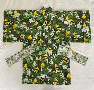 cotton kimono for toddlers Tiny Magnum by APMonde