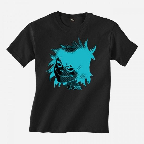 KIDS INVERT NOODLE BLACK T-SHIRT