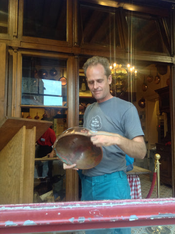 Jonathan Beall's trip to Normandy, France changed his entire perspective about the design of Sertodo's copper mixing bowls.