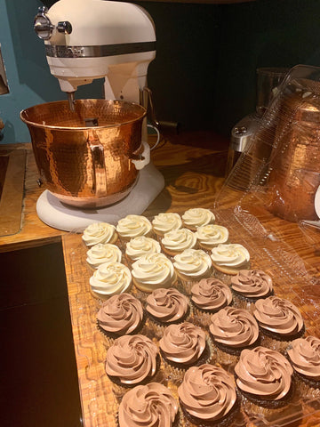 Our newest KitchenAid Professional 600 Copper Mixing Bowl produces some of the lightest, fluffiest and most delicious baked goods you can ever taste.