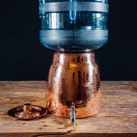 Stay healthy while enjoying delicious drinking water from our Niagara Copper Water Dispenser!