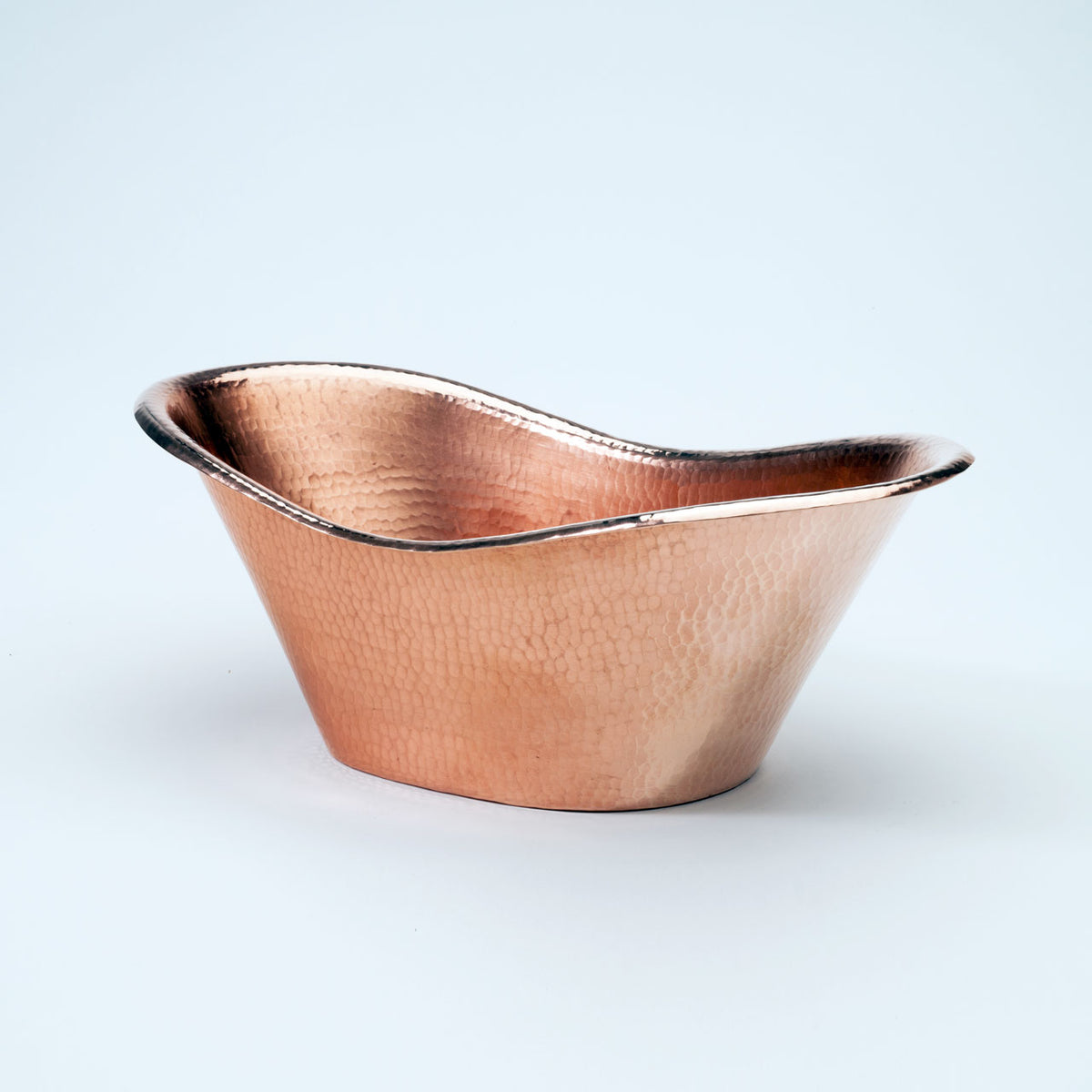 Nile Cradle Oval Copper Ice Bucket
