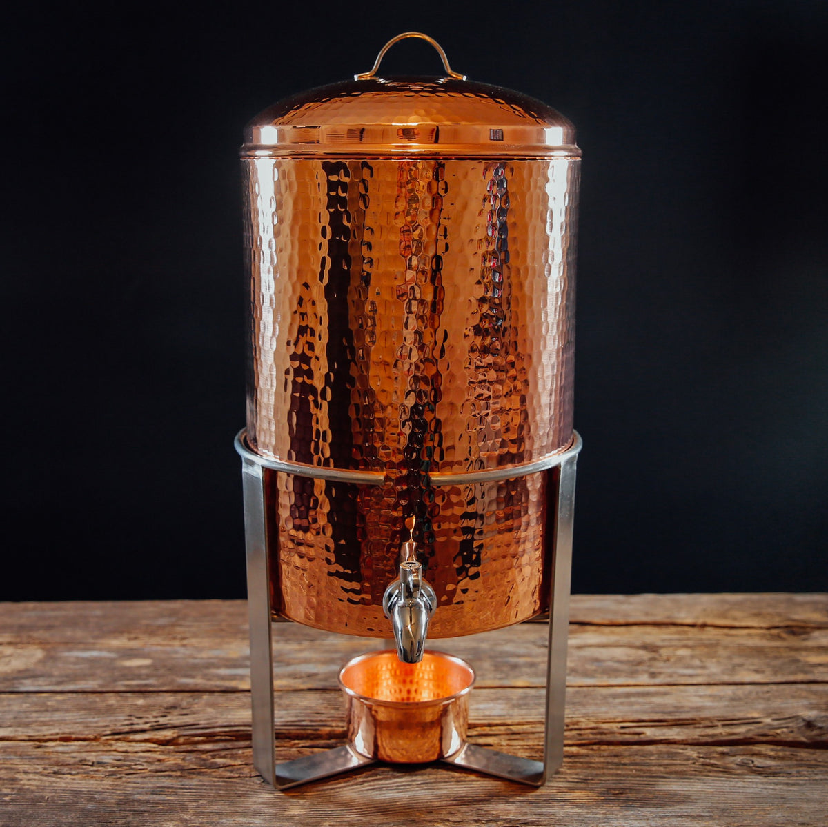 Arcadia Copper Beverage Urn for hot or cold service