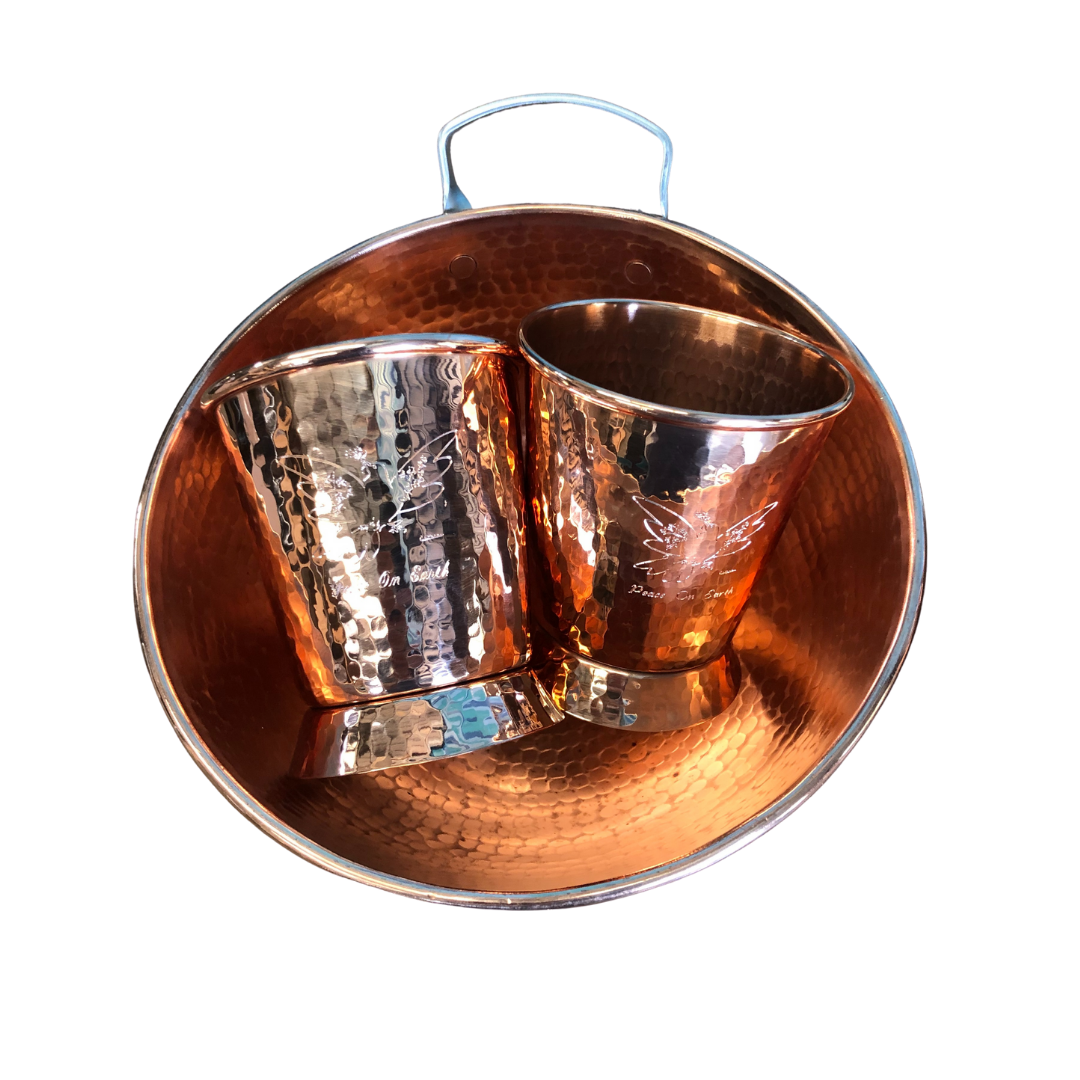 2020 Holiday Copper Eggnog Set