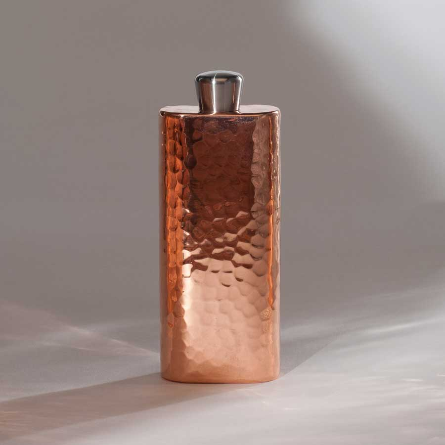Espadín Copper Boot Flask