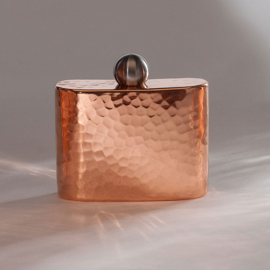 Espadín Petit Copper Hip Flask