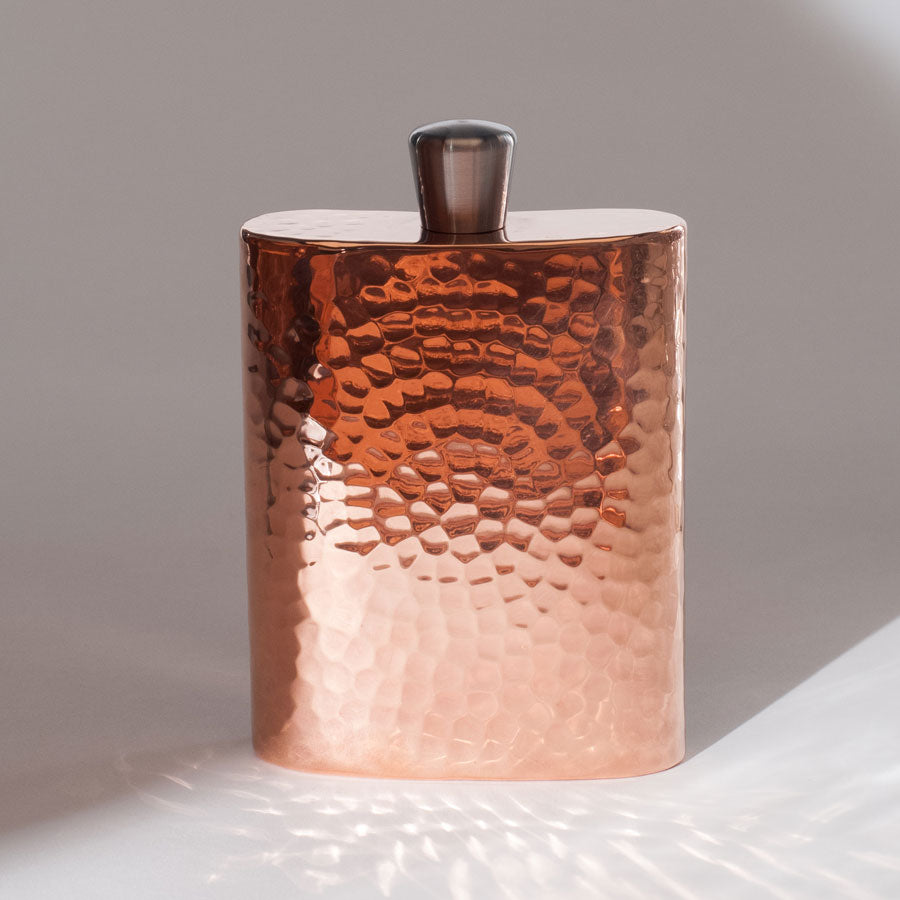 Espadín Grand Daddy Copper Flask