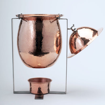 Delphi Copper Marmite and Soup Tureens