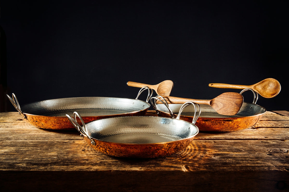 Alicante Copper Paella Pan