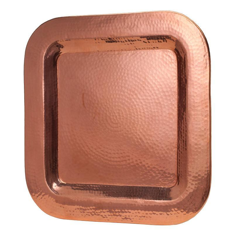 Copper Thessaly Square Platter