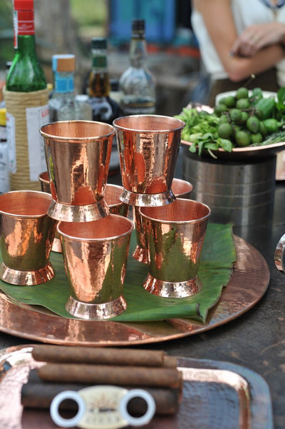 Derby Copper Mint Julep Cup