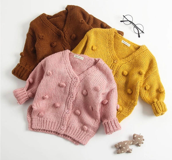 Haven Pom Pom Cardigan