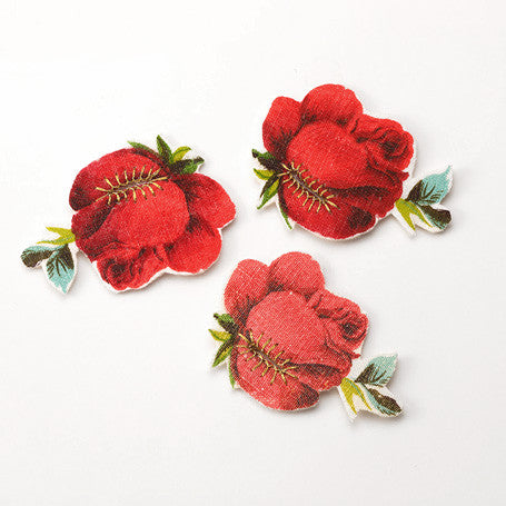Button accessory-ROSE-S