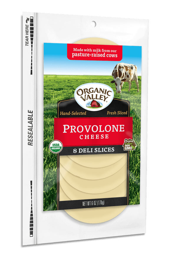 Cheese, Organic Sliced Provolone