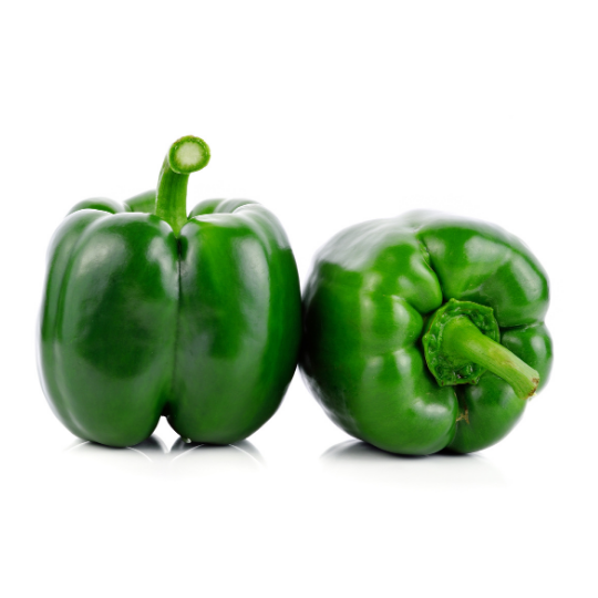 Peppers, Organic Green Bell