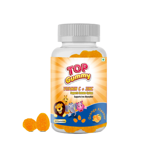 Top Gummy Vitamin C + Zinc