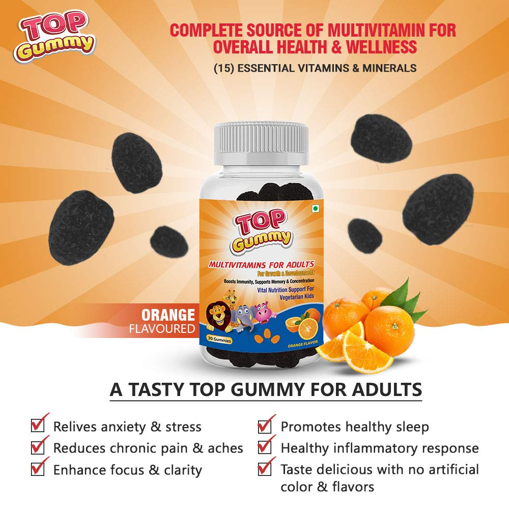 Top Gummy Multivitamins for Adults