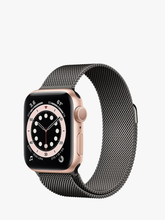 Load image into Gallery viewer, Smart Watch: Rosegold/Black Milanese