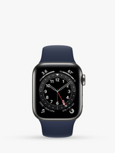 Load image into Gallery viewer, Smart Watch: Black with Navy Bracelet