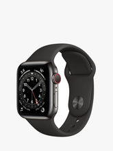 Load image into Gallery viewer, Smart Watch: Black with Black Bracelet