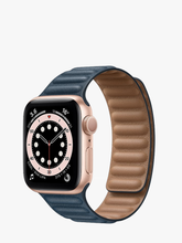 Load image into Gallery viewer, Smart Watch: Rosegold with Navy Leather