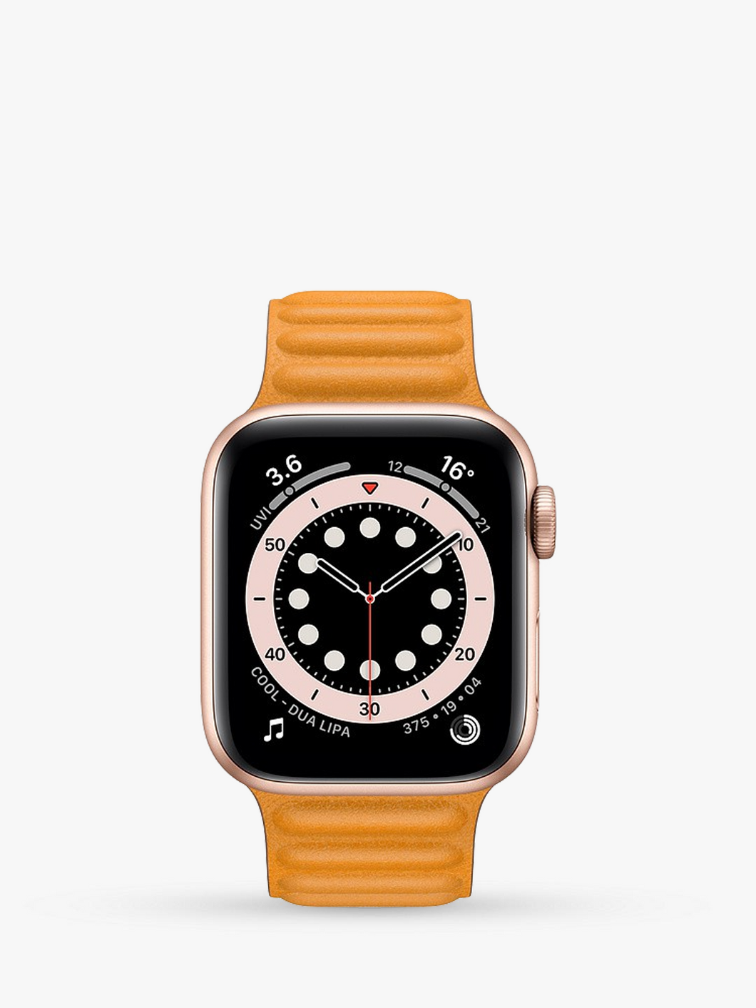 Smart Watch: Rosegold with Sunset Leather